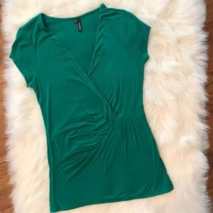 Maurices Faux Wrap Top. Size: S